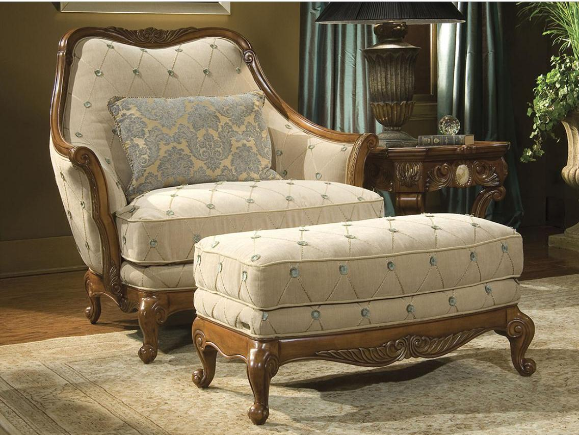 classy chair and a half with ottoman Luxury Chair by aico furniture for living room decor ideas