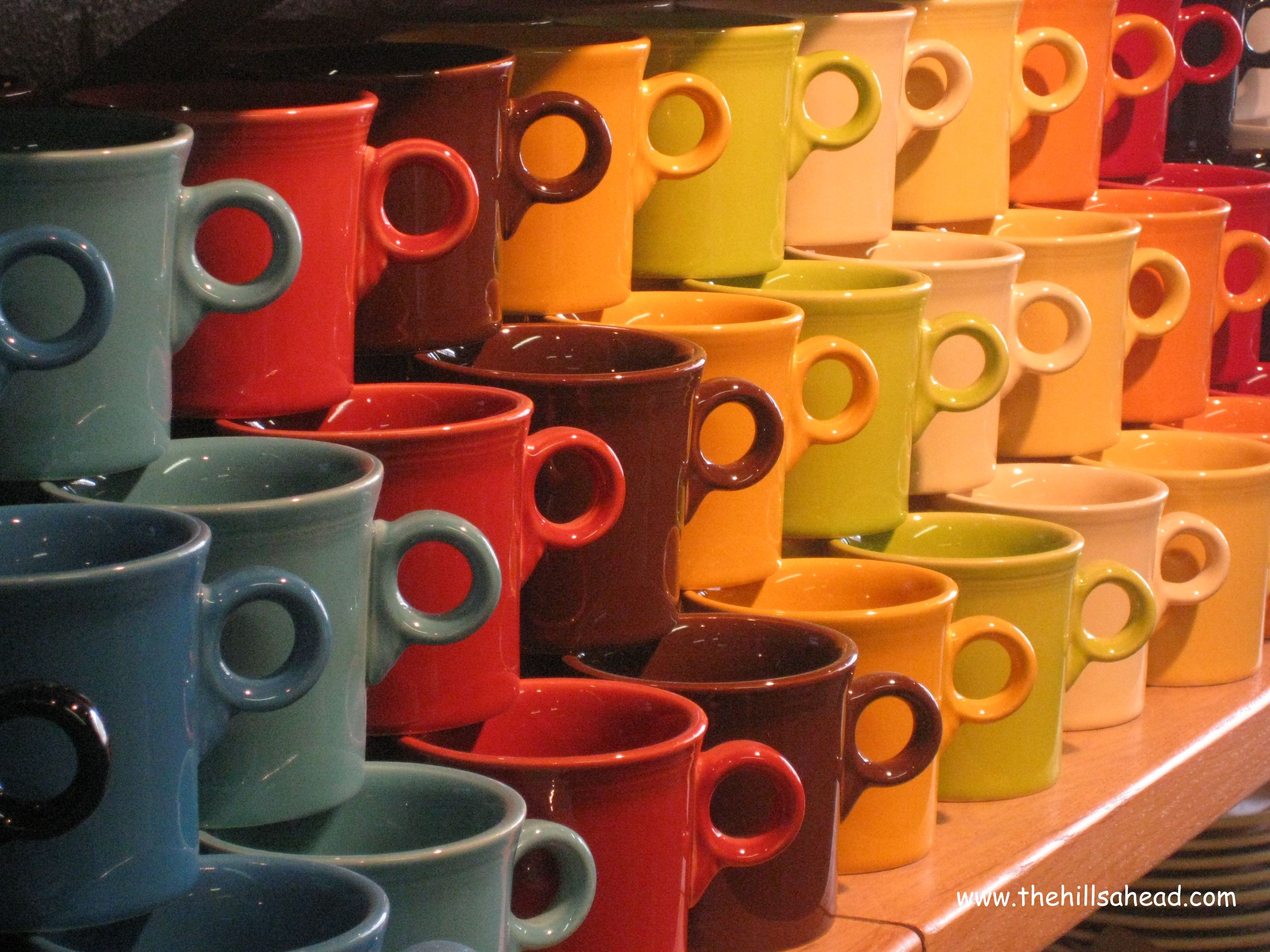 colorful mug by fiestaware for drinkware ideas