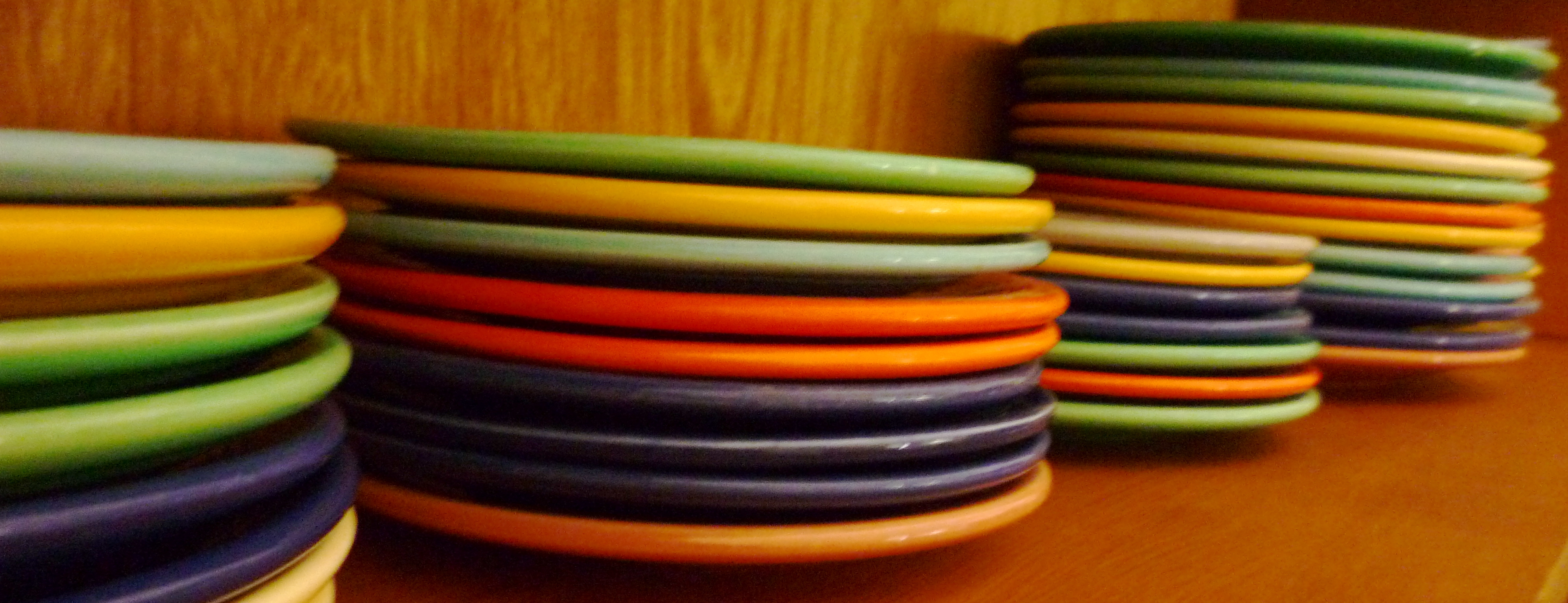 Colorful Plate By Fiestaware For Dinnerware Ideas