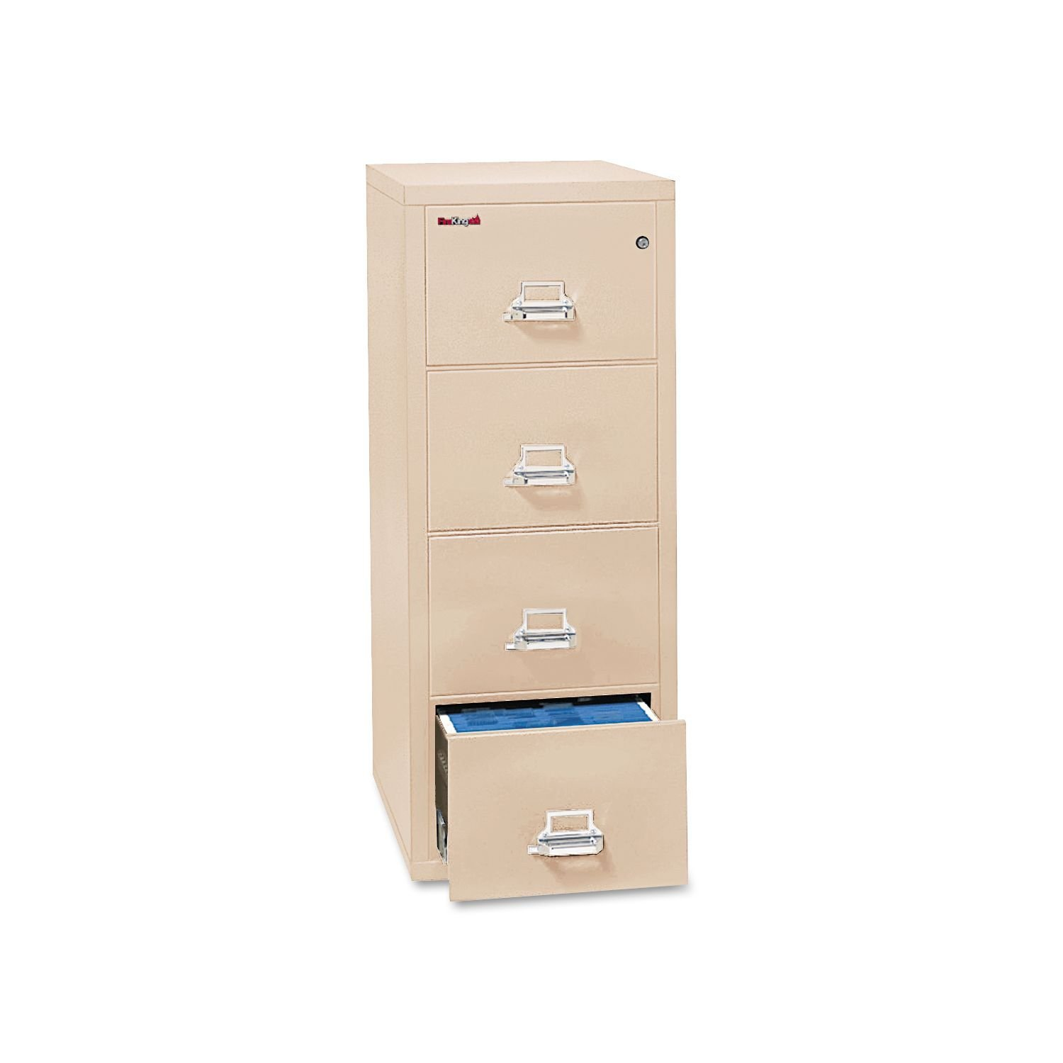 cool fireproof file cabinet in cream with four drawers and white handle for home office furniture ideas