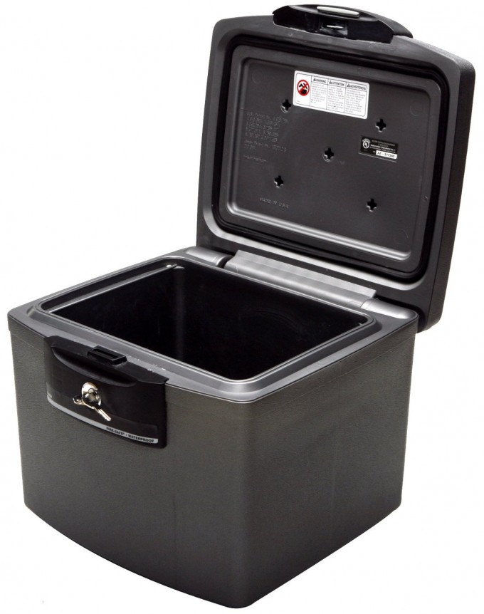 Cool Fireproof File Cabinet In Dark Color With Safety Lock For Safety Data Ideas