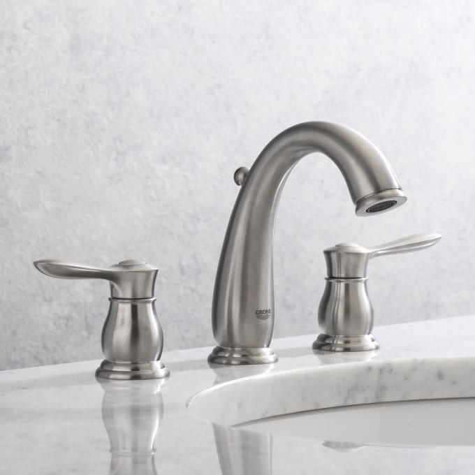 Cozy 20 390EN0 Parkfield Two Handle Widespread Bathroom Faucet By Grohe Faucets For Bathroom Furniture Ideas