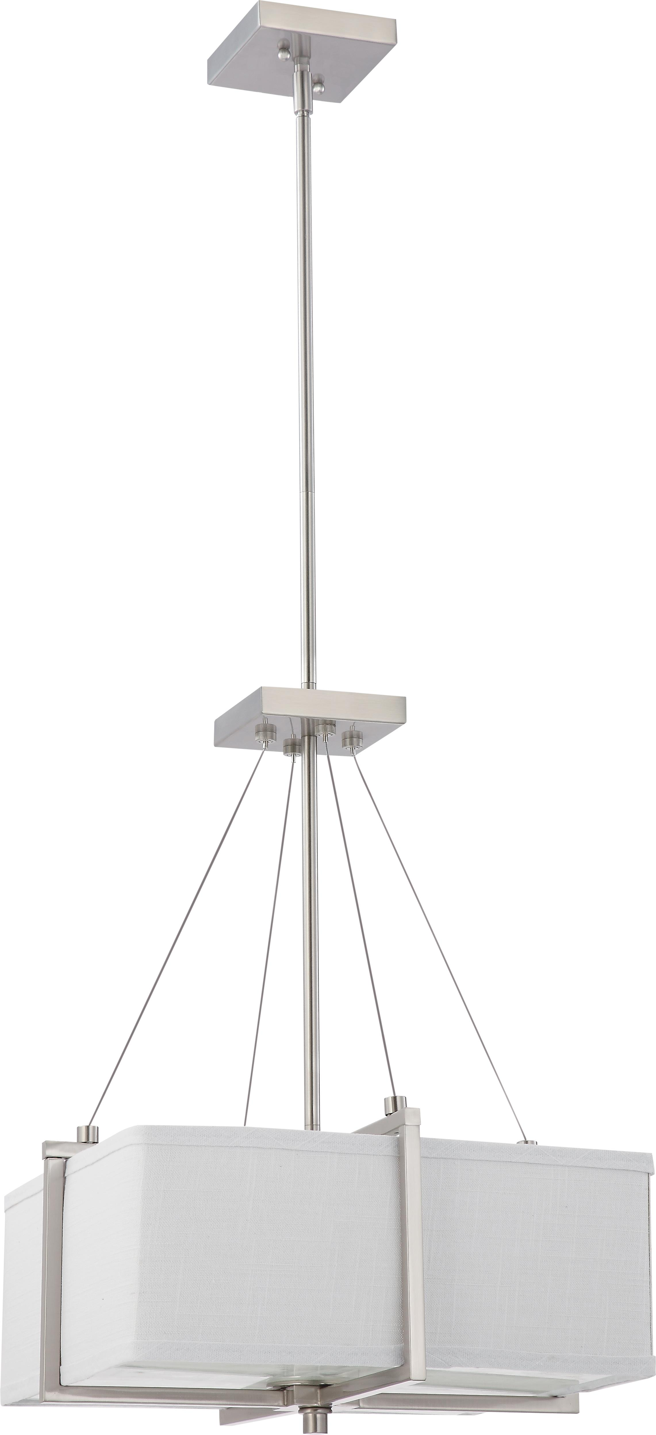 cozy Nuvo Lighting 60/4506 Pendant Lighting Logan for home lighting ideas