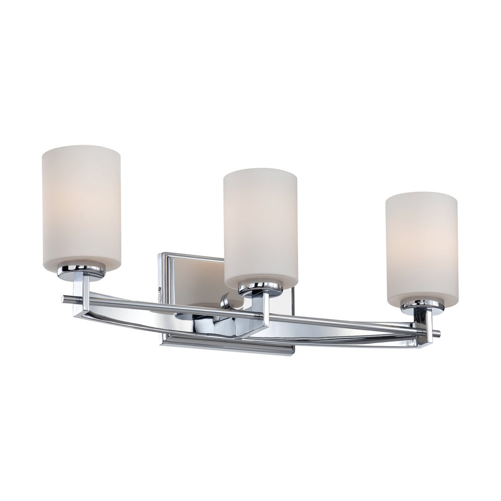 Cozy Quoizel TY8603C Taylor 3 Light Bath Wall Fixture Vanity Lighting For Home Ideas