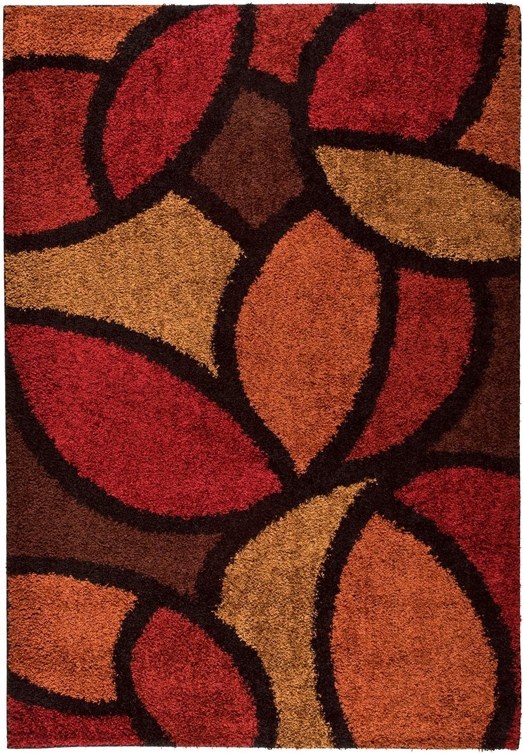 cute Orian Rugs Shag Ra La 1714 Bloompetal Red Burgundy Rug for floor decor ideas