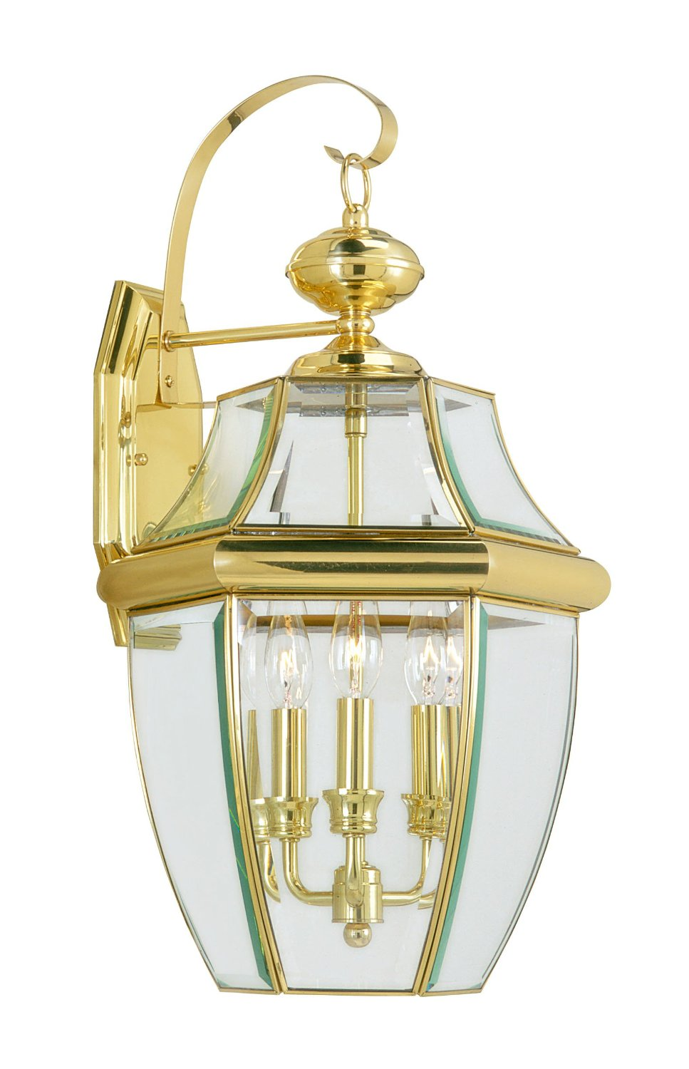 elegant Livex Lighting 2251 02 Monterey 2 Light Outdoor Polished Brass for home lighting ideas