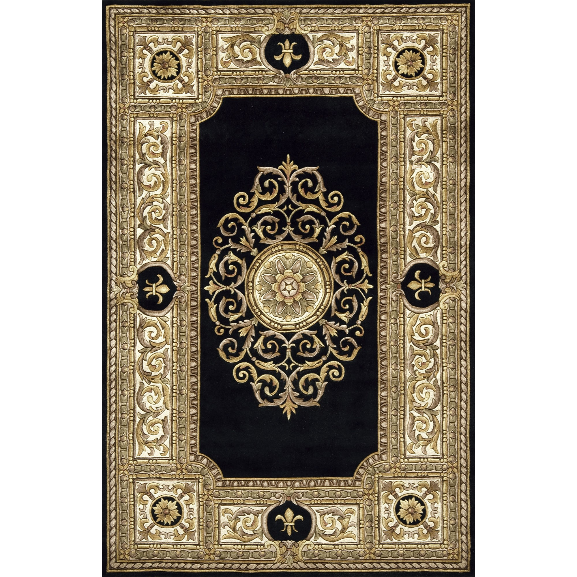 elegant Maison Black Oriental Rug MA 08BLK by momeni rugs for floor decor ideas