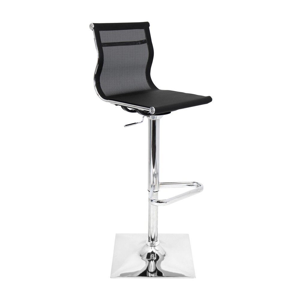 elegant mirage cymax bar stools in black for home furniture ideas