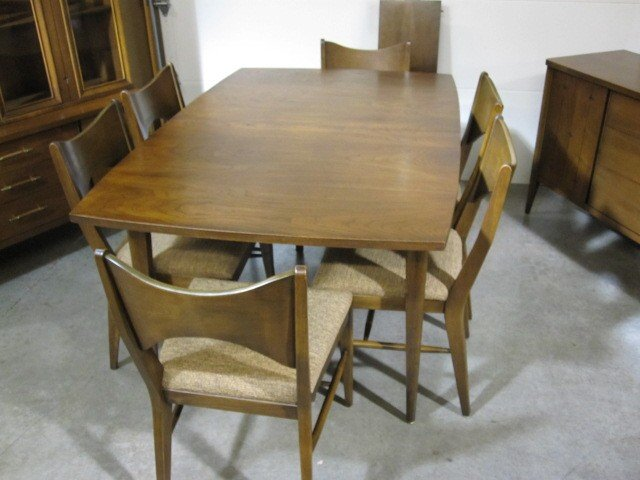 elegant wooden dining table set by broyhill furniture for dining room furniture ideas