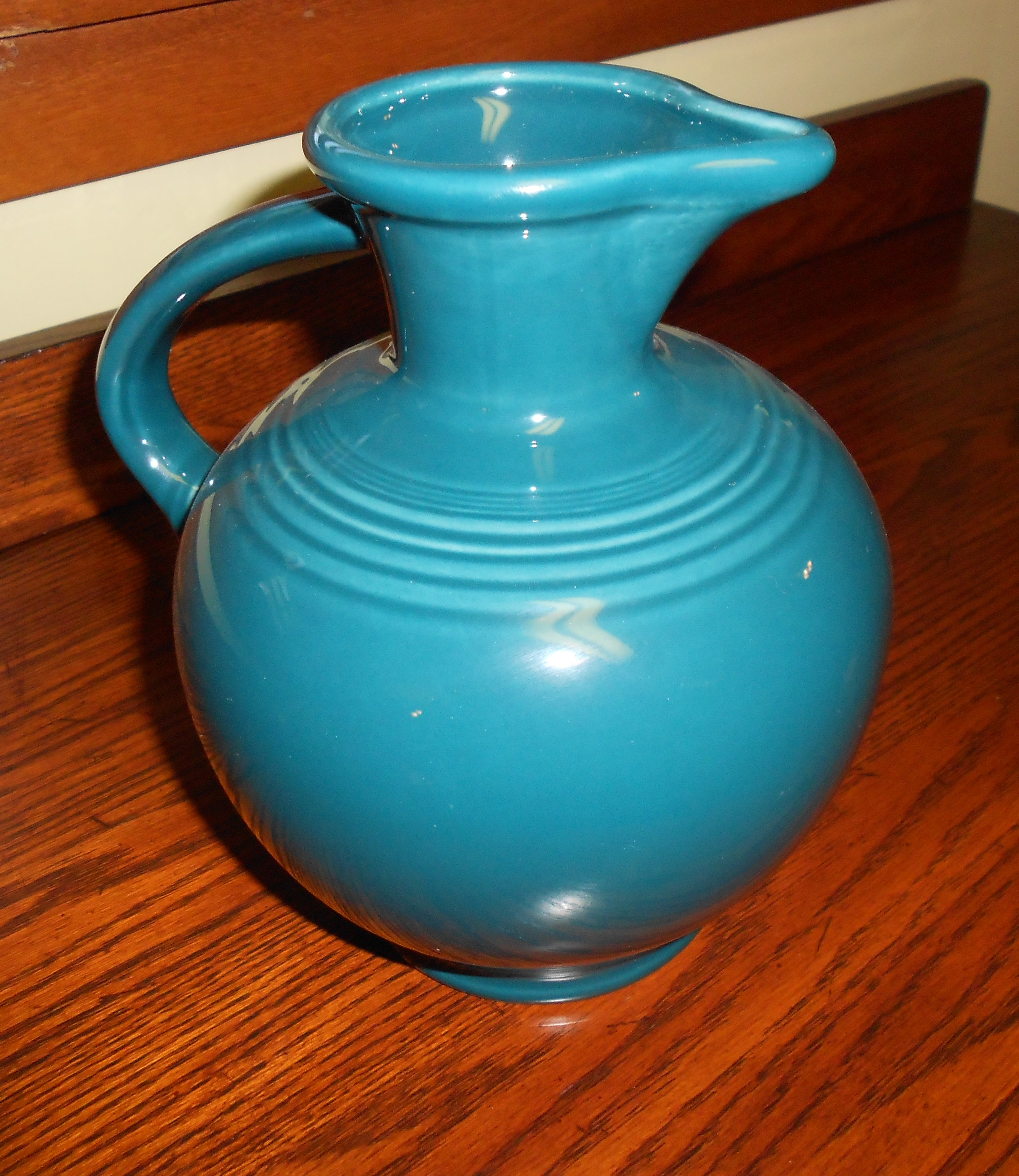 fancy teapot in blue by fiestaware for drinkware ideas