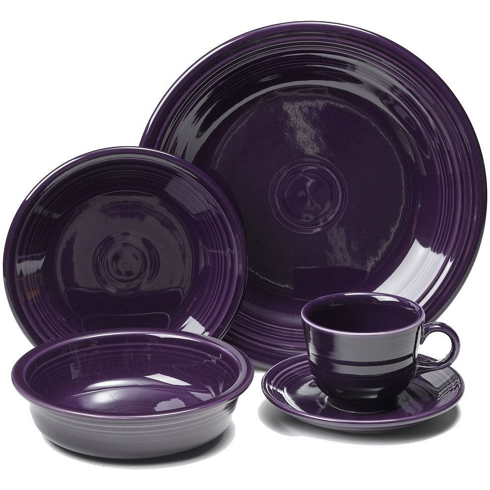 Fiestaware Dinner Service Plum Purple for dinnerware ideas