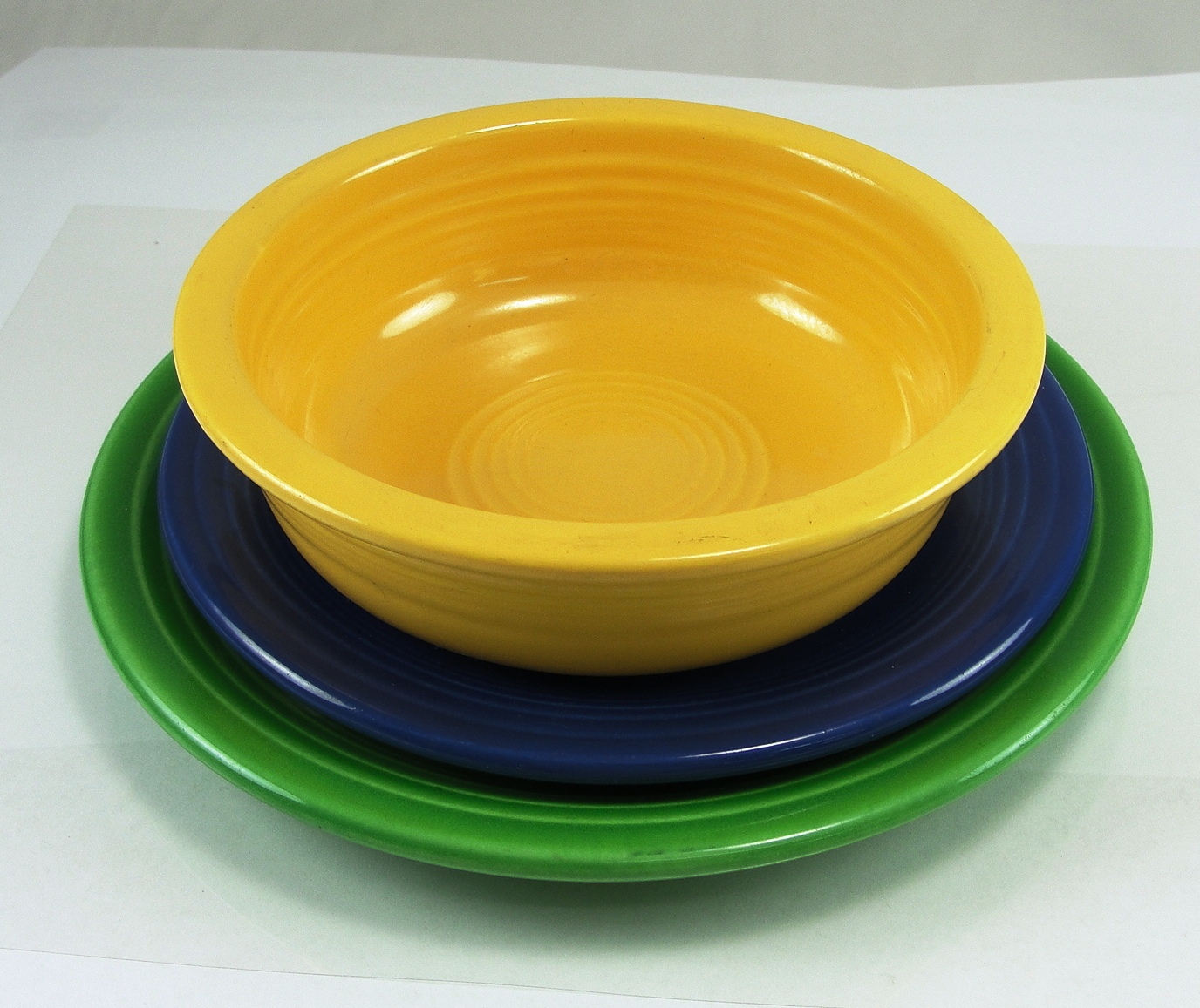 Fiestaware Salad Plate Bread Butter Plate Coupe Soup Bowl Yellow For Dinnerware Ideas