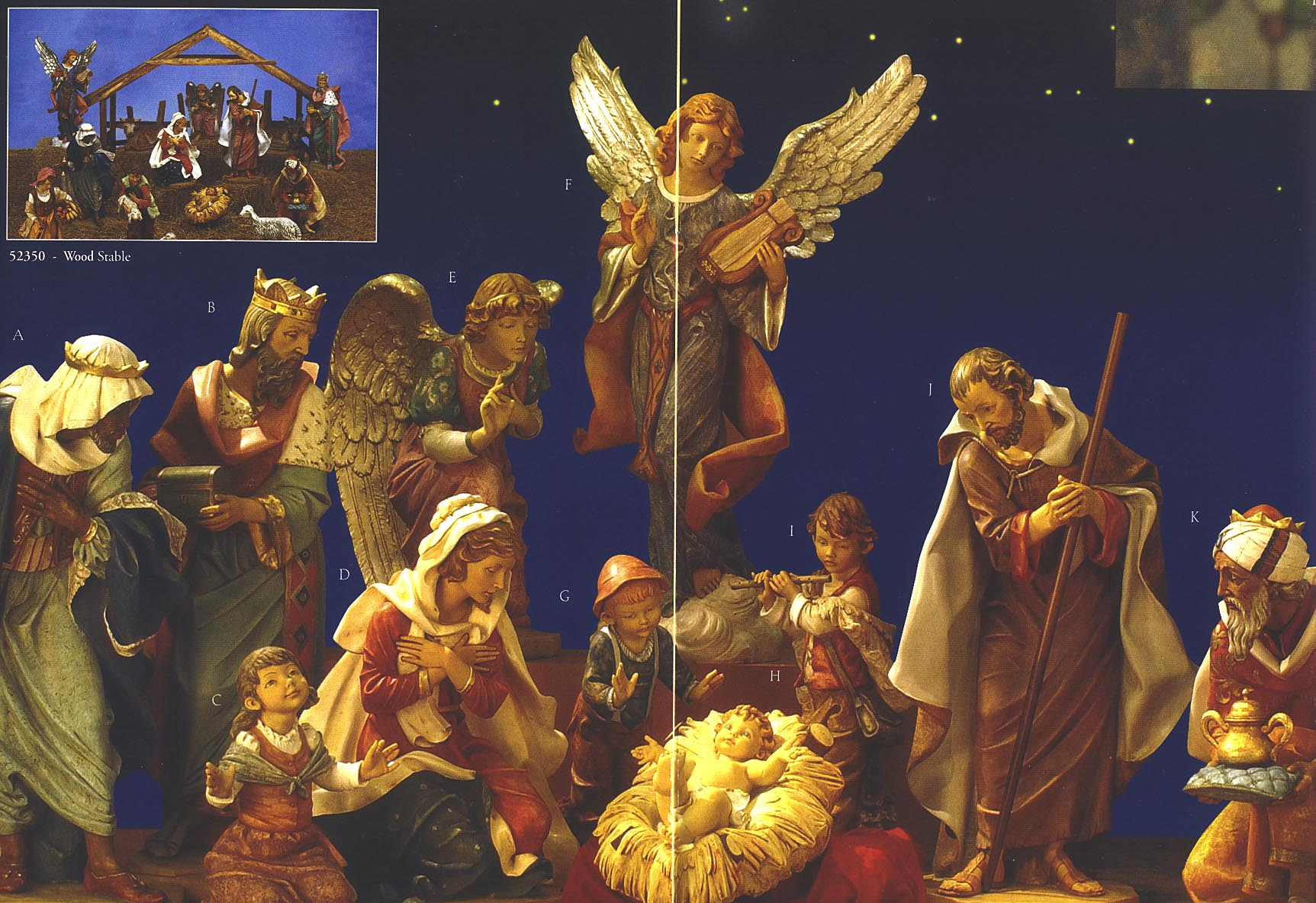 Fontanini Nativity Sets for christmas decoration ideas