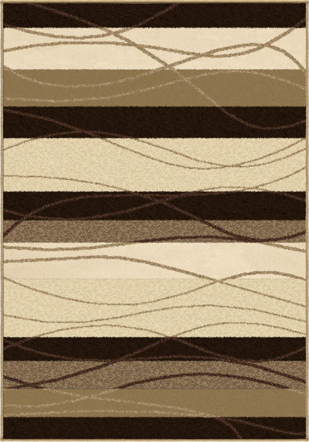 Four Seasons 1801 Tonal Stripe Rug By Orian Rugs For Chic Floor Decor Ideas