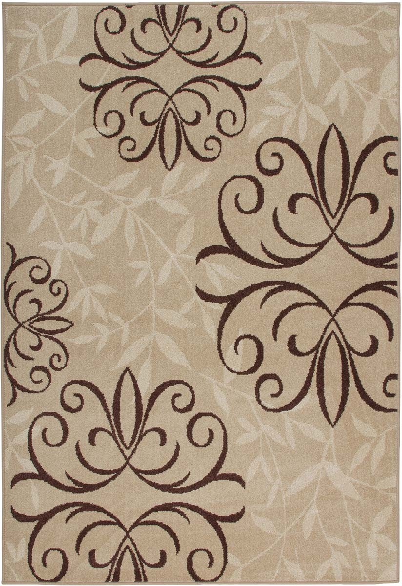 Four Seasons Josselin Whisper Outdoor Indoor Scrolls Orian Rugs for floor decor ideas