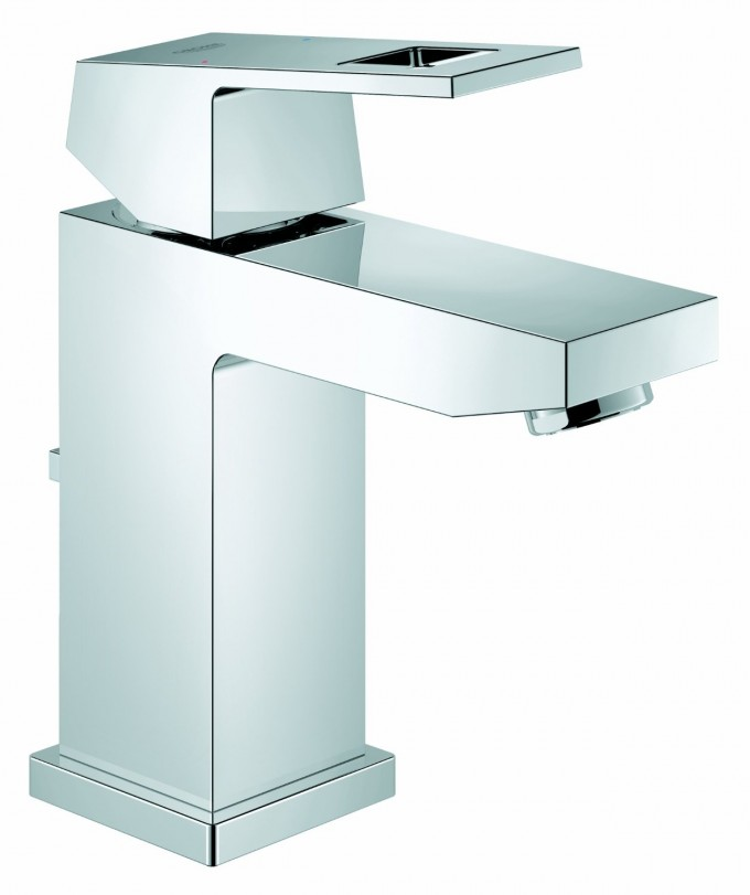 Interesting 23129000 Eurocube Centerset Bathroom Faucet By Grohe Faucets For Bathroom Furniture Ideas