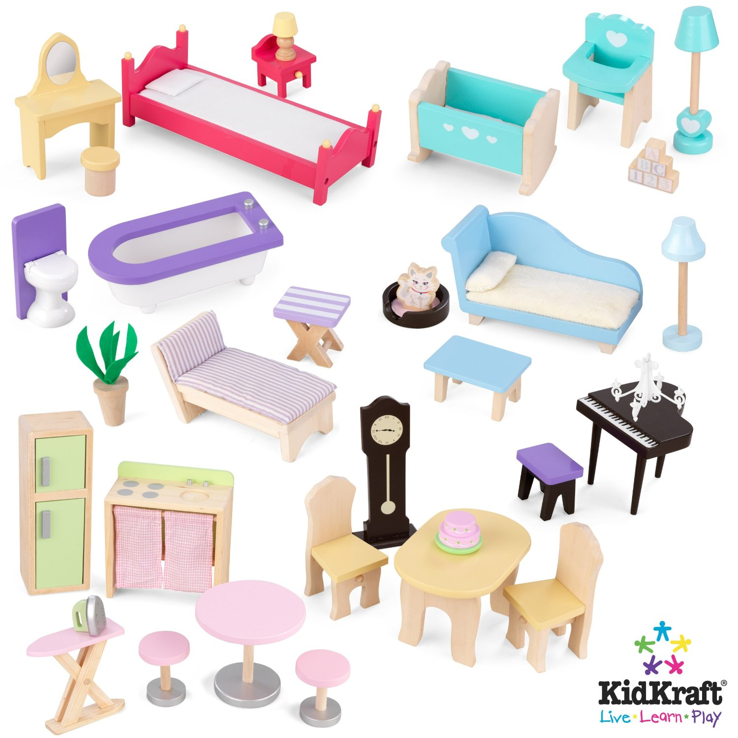 Kid Kraft Furniture For Kidkraft Majestic Mansion Dollhouse 65252