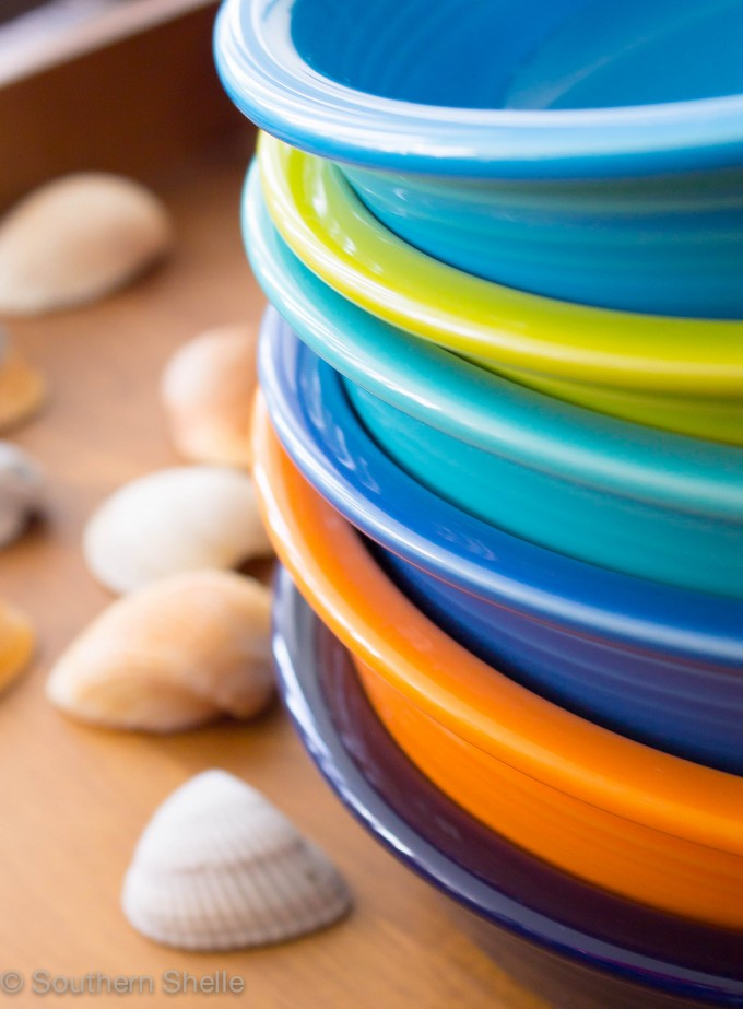 Lovely Bowl By Fiestaware In Optional Color For Dinnerware Ideas