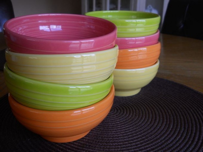 Lovely Bowl Collection By Fiestaware For Dinnerware Ideas