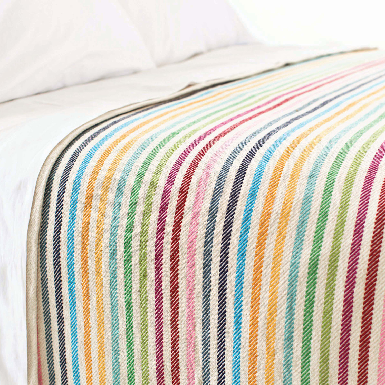 lovely colorful stripped pine cone hill bedding for bed ideas