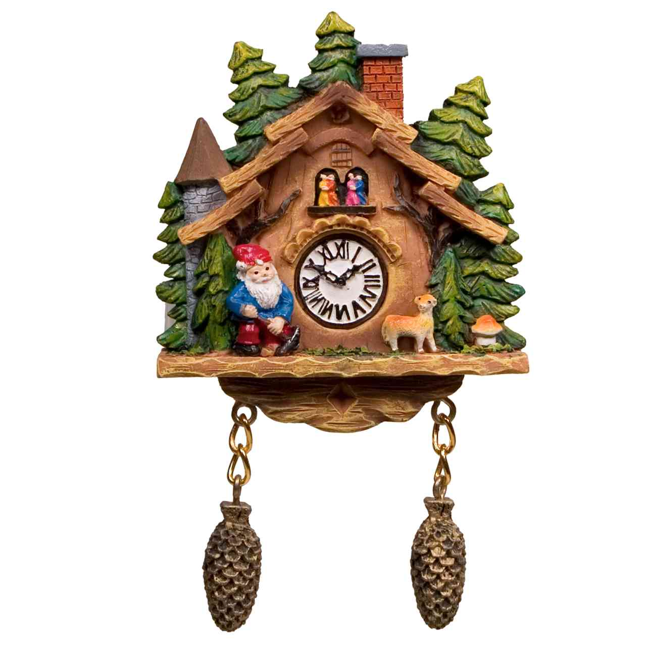 lovely cuckoo clock with tree design for home accessories ideas