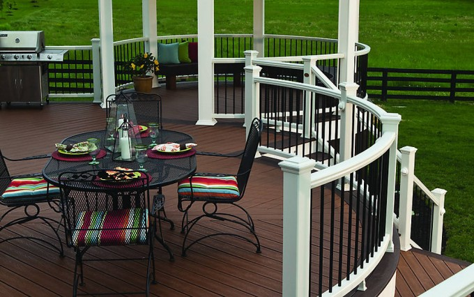 Lovely Decking IIN TREE HOUSE AND VINTAGE LANTERN Cheap Trex Decking Cost Ideas
