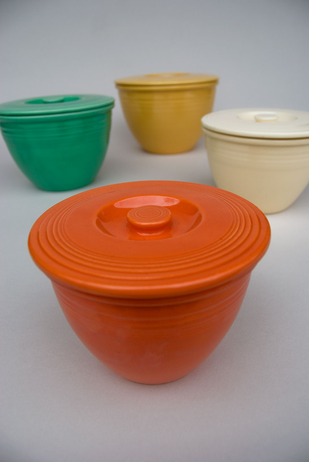 Awesome Collections Of Fiestaware For Dinnerware Ideas: Lovely Fiestaware Nesting Bowl Lids Fiesta Pottery Rare For Serveware Ideas