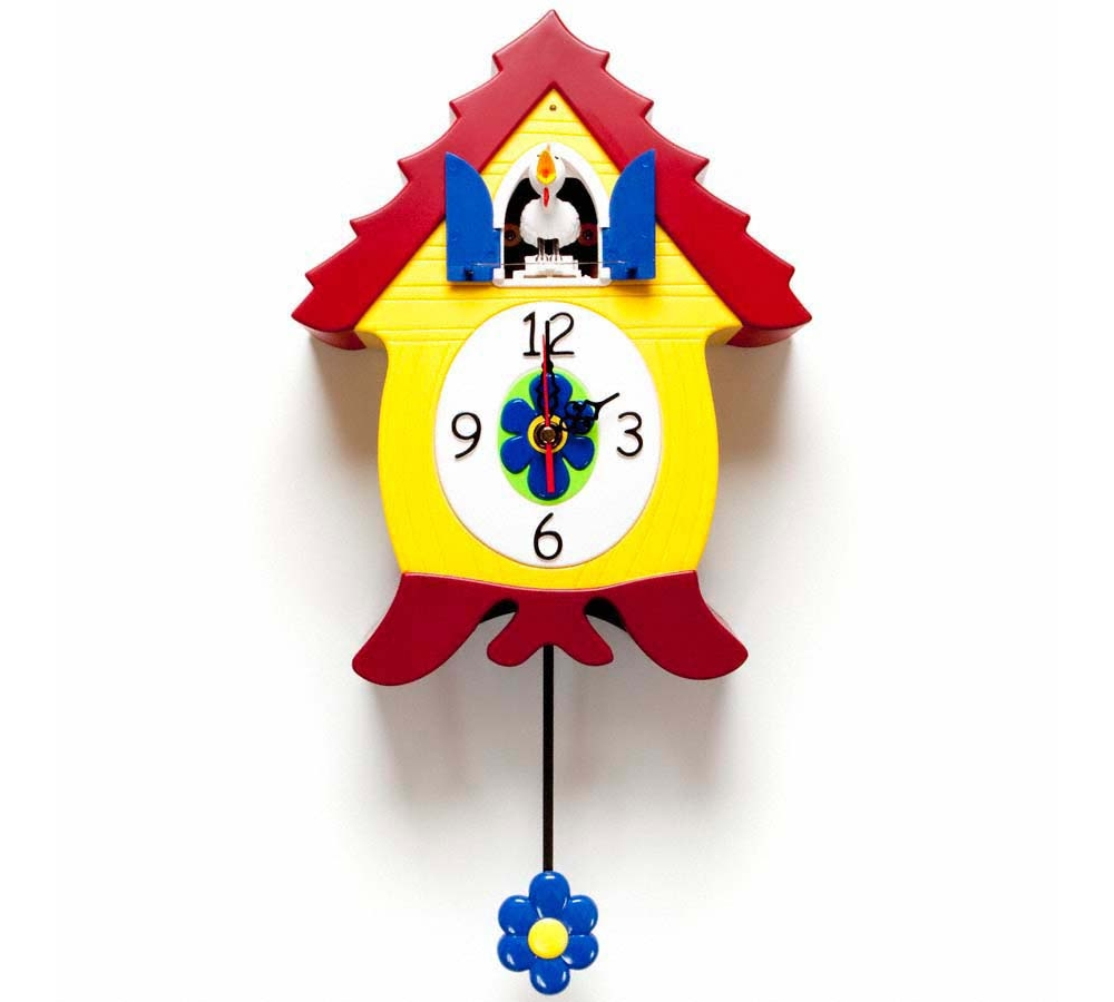 lovely lightful color of cuckoo clock for home accessories ideas