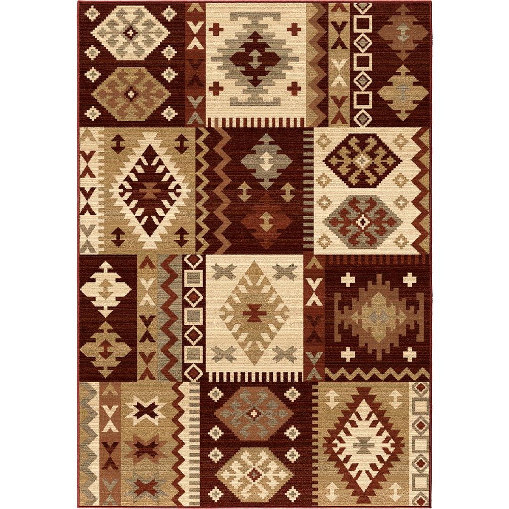 lovely Orian Rugs 1426 Anthology Durango Brown Red for floor decor ideas