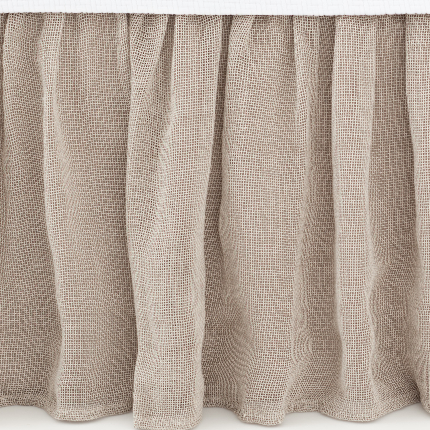 lovely Pine Cone Hill Linen Mesh Bed Skirt in gray for bed ideas