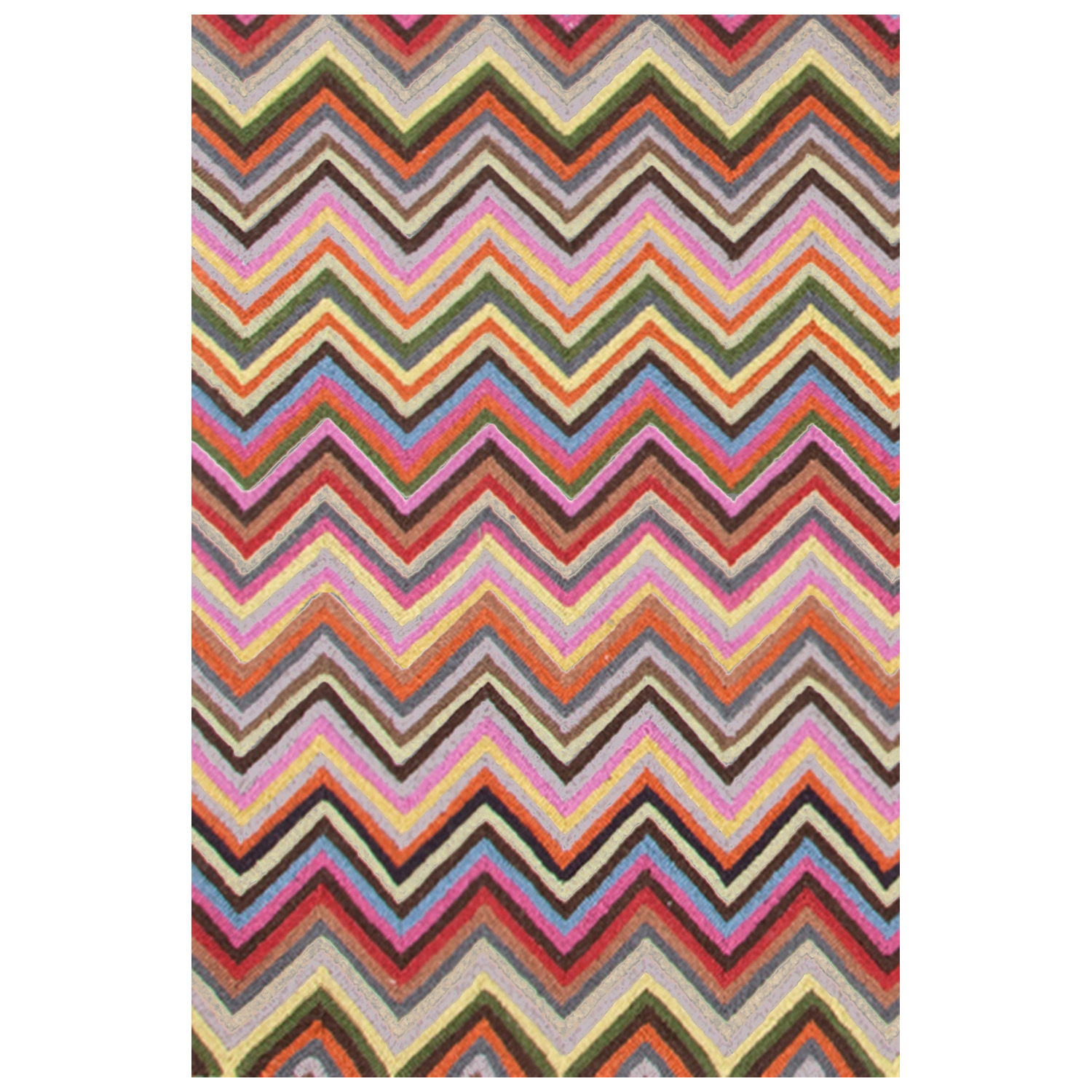 Lovely Rectangle Colorful Dash And Albert Rugs In Chevron Pattern For Floor Cover Ideas