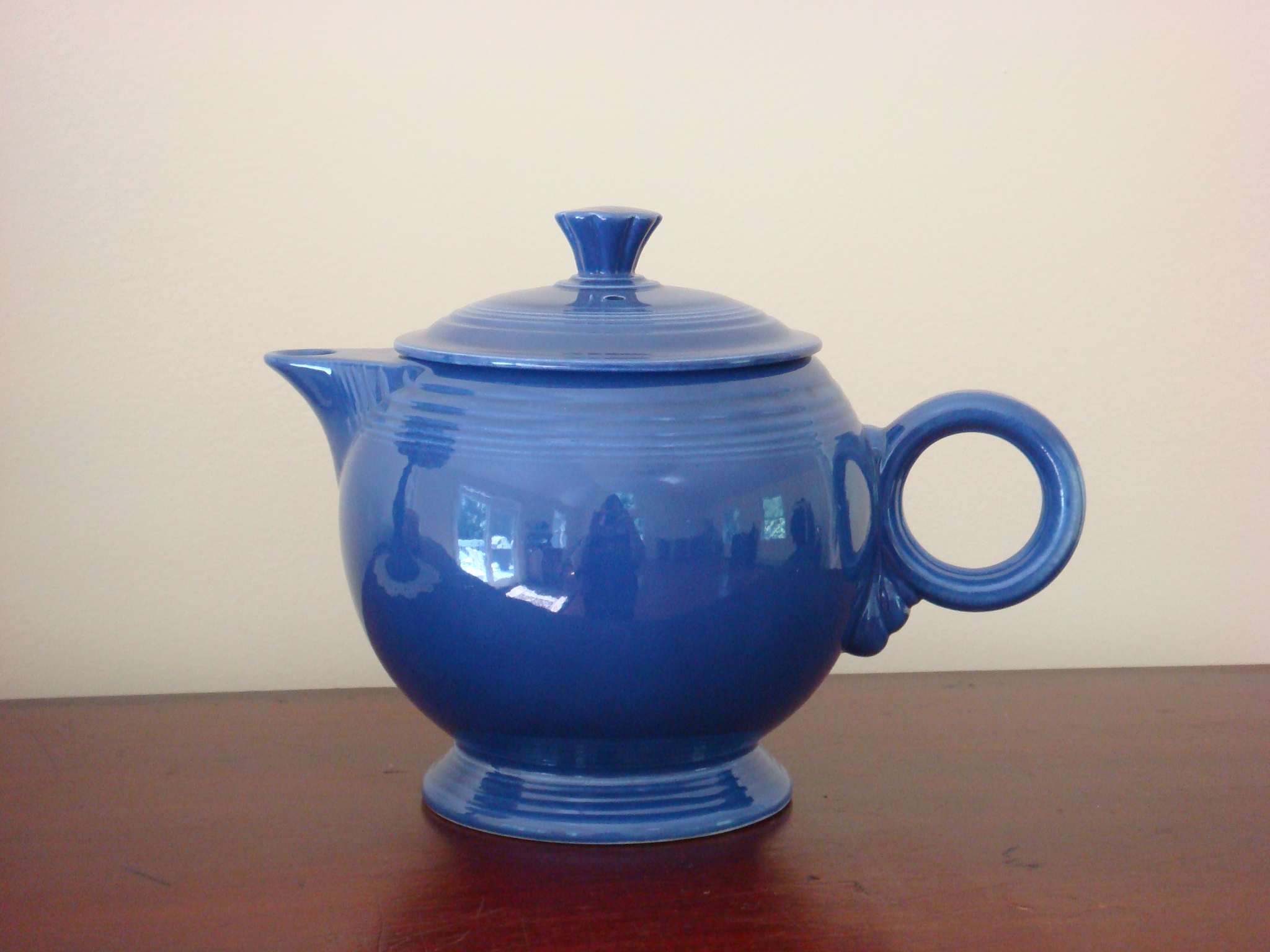 lovely teapot in blue by fiestaware for drinkware ideas