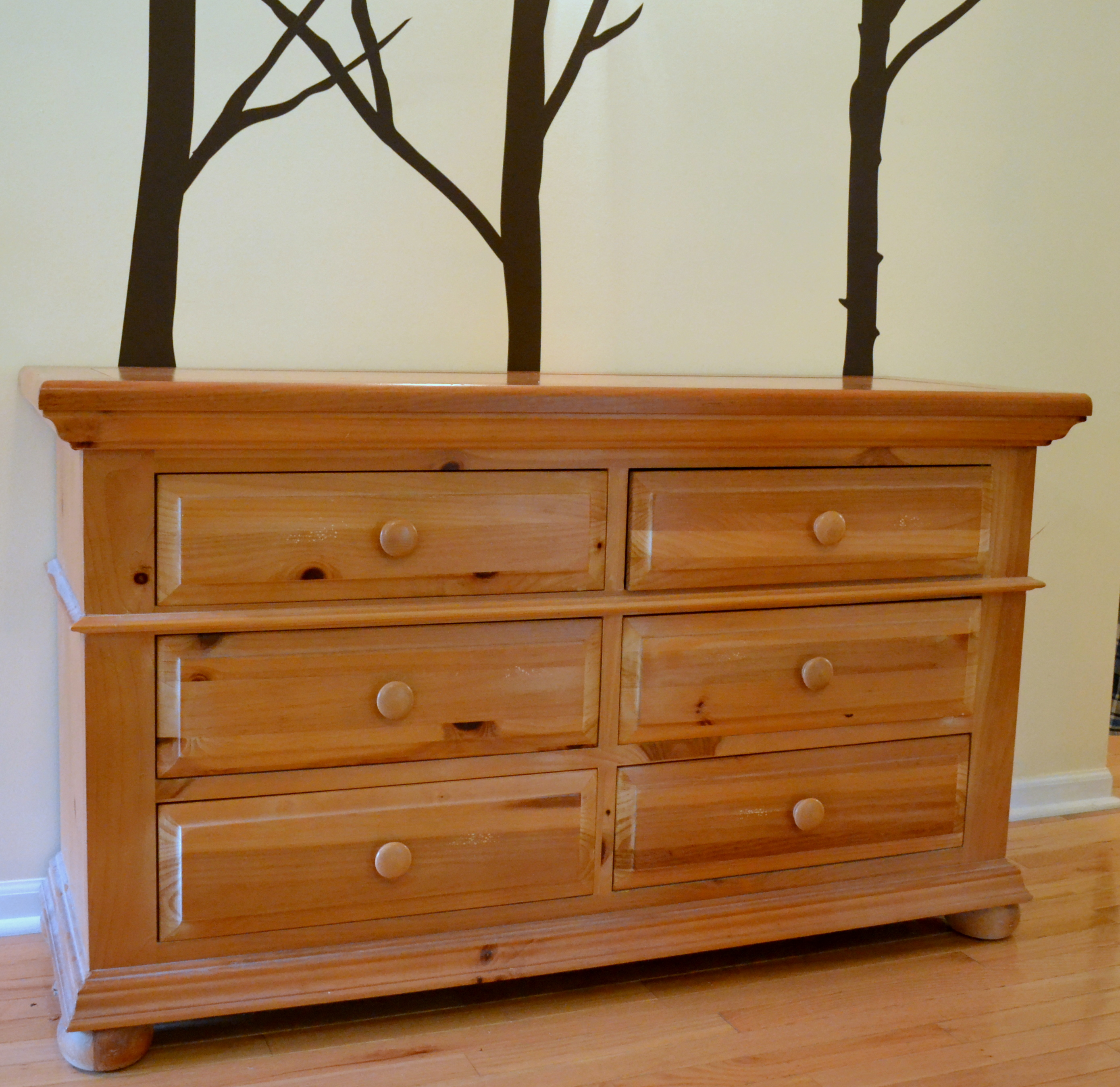 lovely wooden dresser with six drawers by broyhill furniture for home furniture ideas
