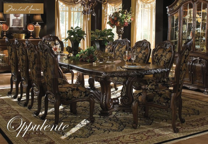 Marvelous Aico Furniture Dining Table With Elegant Rectangular Shape For Dining Room Furniture Ideas