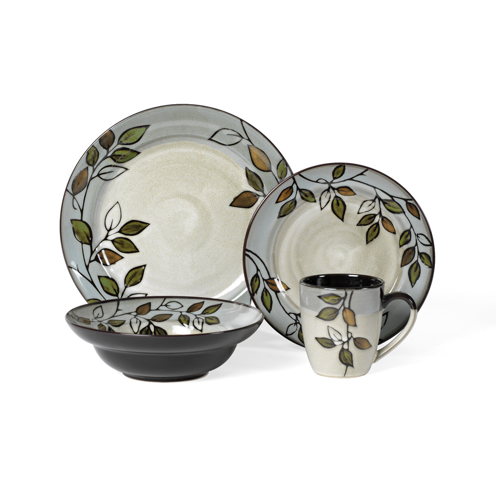 melamine dinnerware set by pfaltzgraff in floral pattern for lovely dinnerware ideas