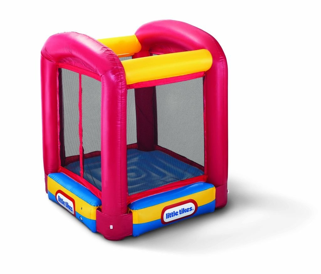 Fancy Little Tikes Bounce House For Play Yard Ideas: Mini Little Tikes Bounce House Made Of Caoutchouc For Kids Play Room Ideas