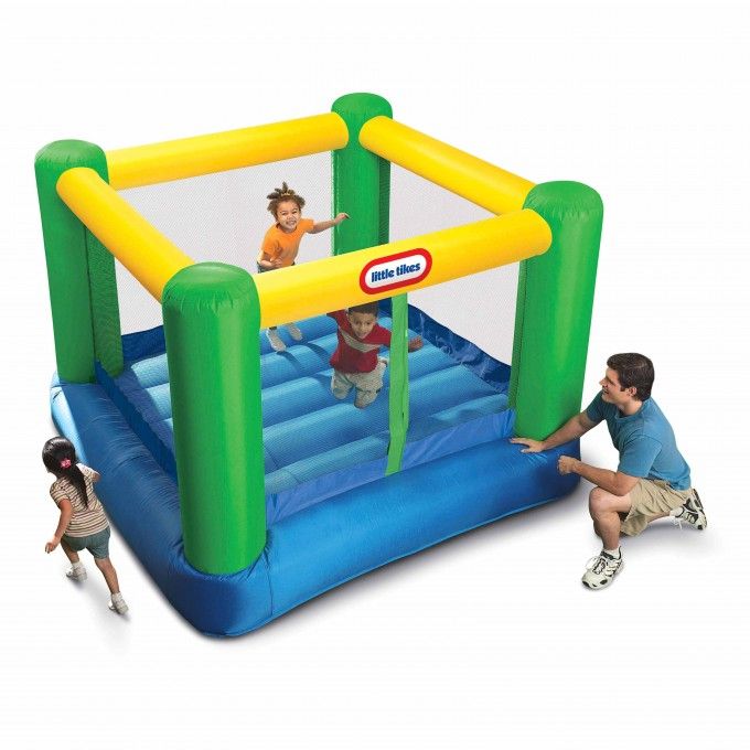Mini Square Little Tikes Bounce House Made Of Caoutchouc For Kids Play Room Ideas