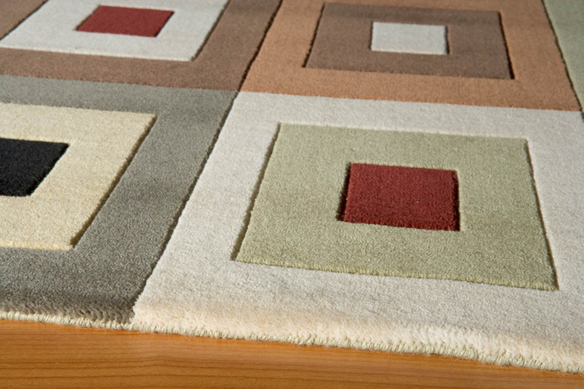 Momeni Rugs Elements EL 04 Multi Rug With Geometric Pattern For Floor Decor Ideas