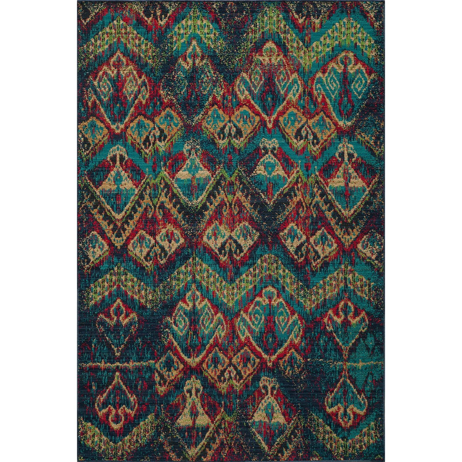 New Zealand Wool Rug In Blue By Momeni Rugs For Floor Decor Ideas