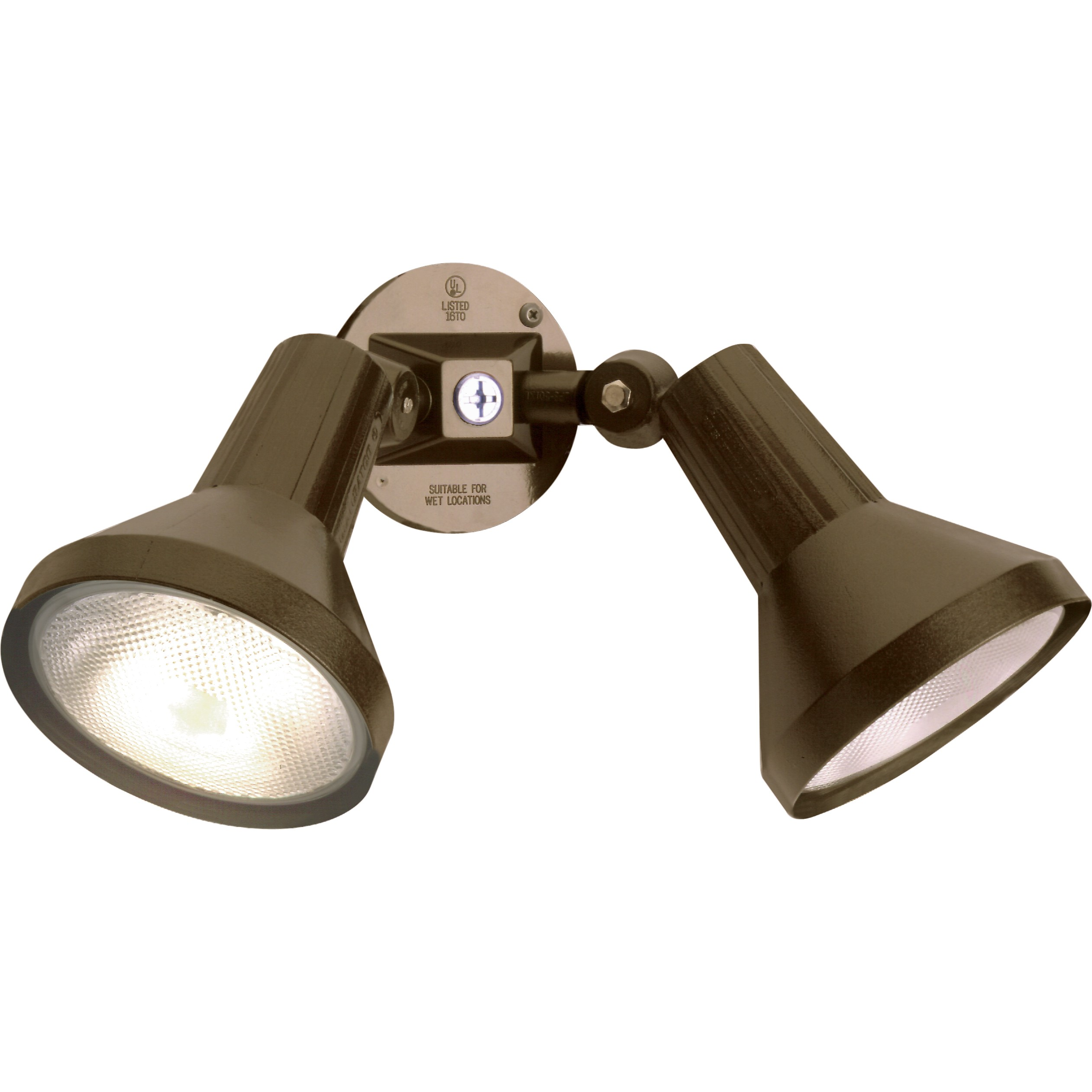 Nuvo Lighting 2 Light 15inch Security Light PAR38 Outdoor Flood