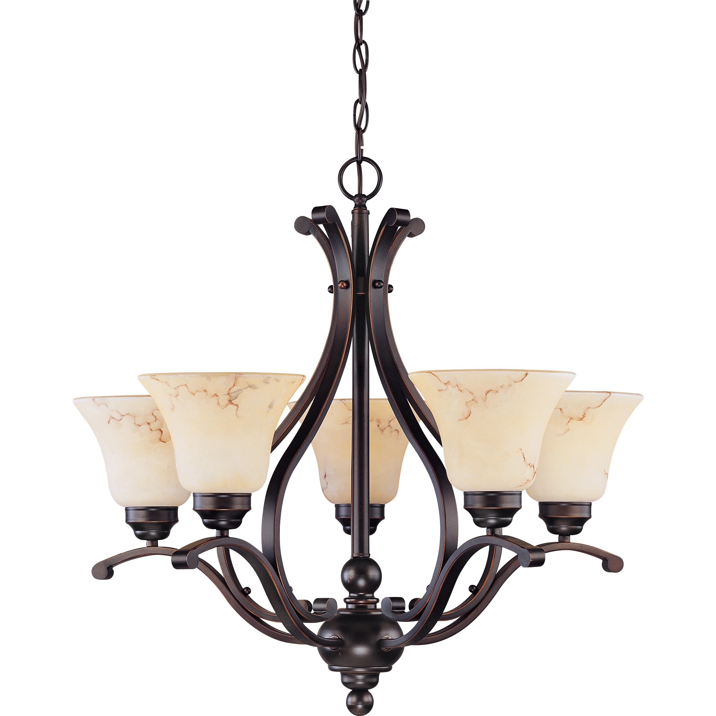 nuvo lighting 60 1402 Nuvo Anastasia Collection 5 Light Chandelier for home lighting ideas