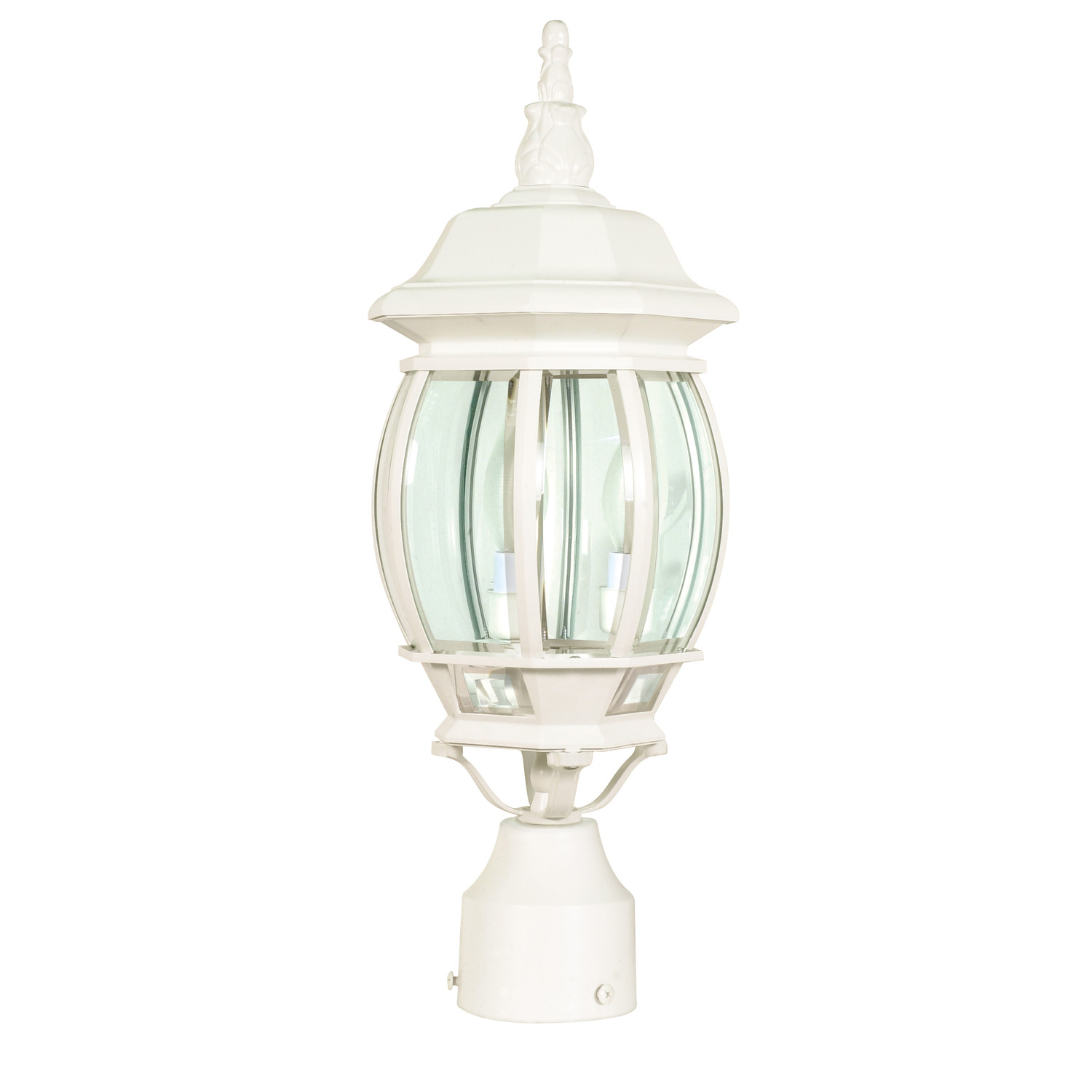 Nuvo Lighting Central 3 Light Post Lantern for outdor lighting ideas