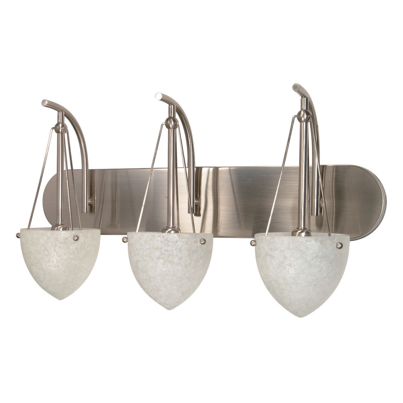 Nuvo Lighting South Beach 3 Light Vanity Light For Bathroom Lighting Ideas