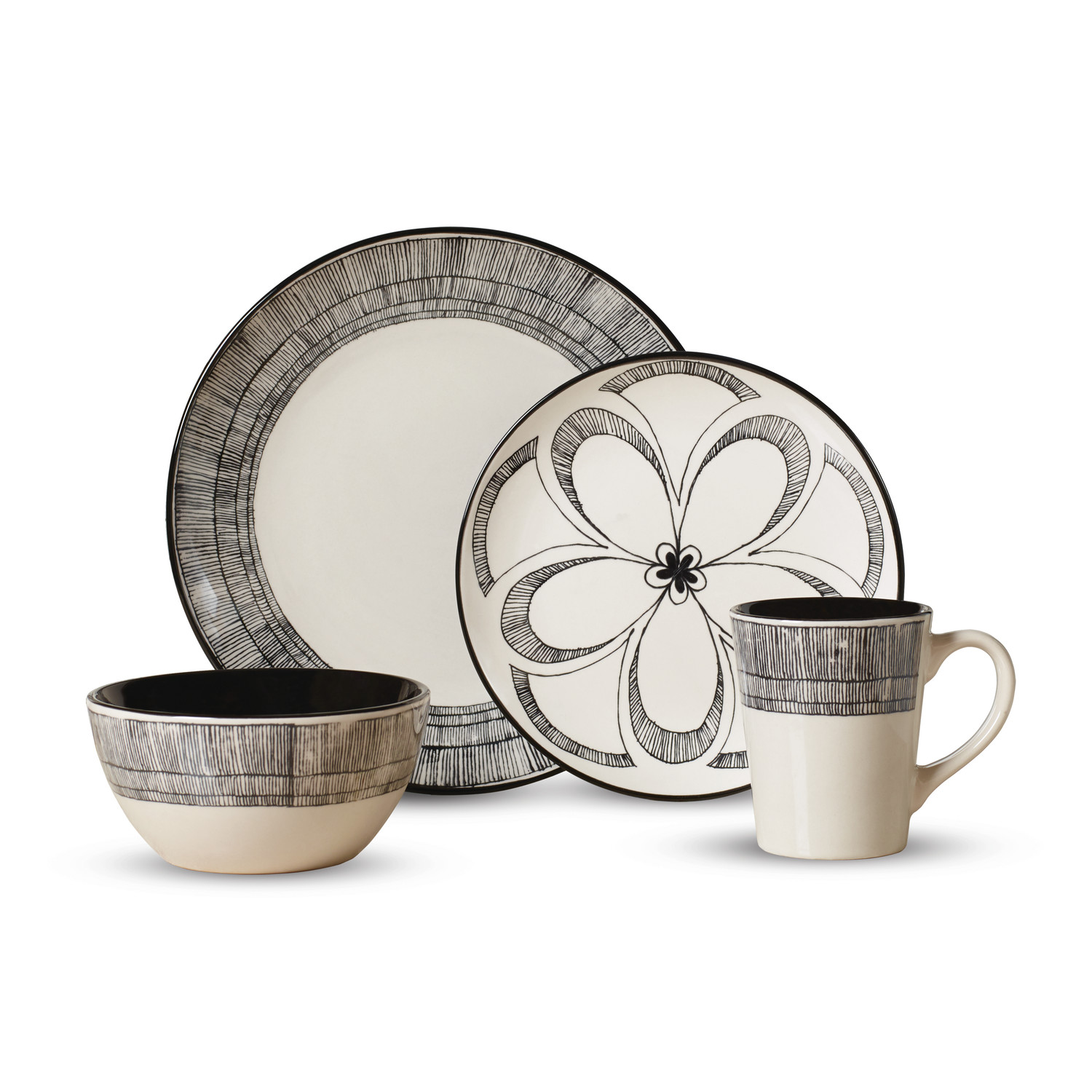 Pfaltzgraff Dinnerware set in cute pattern for lovely dinnerware ideas