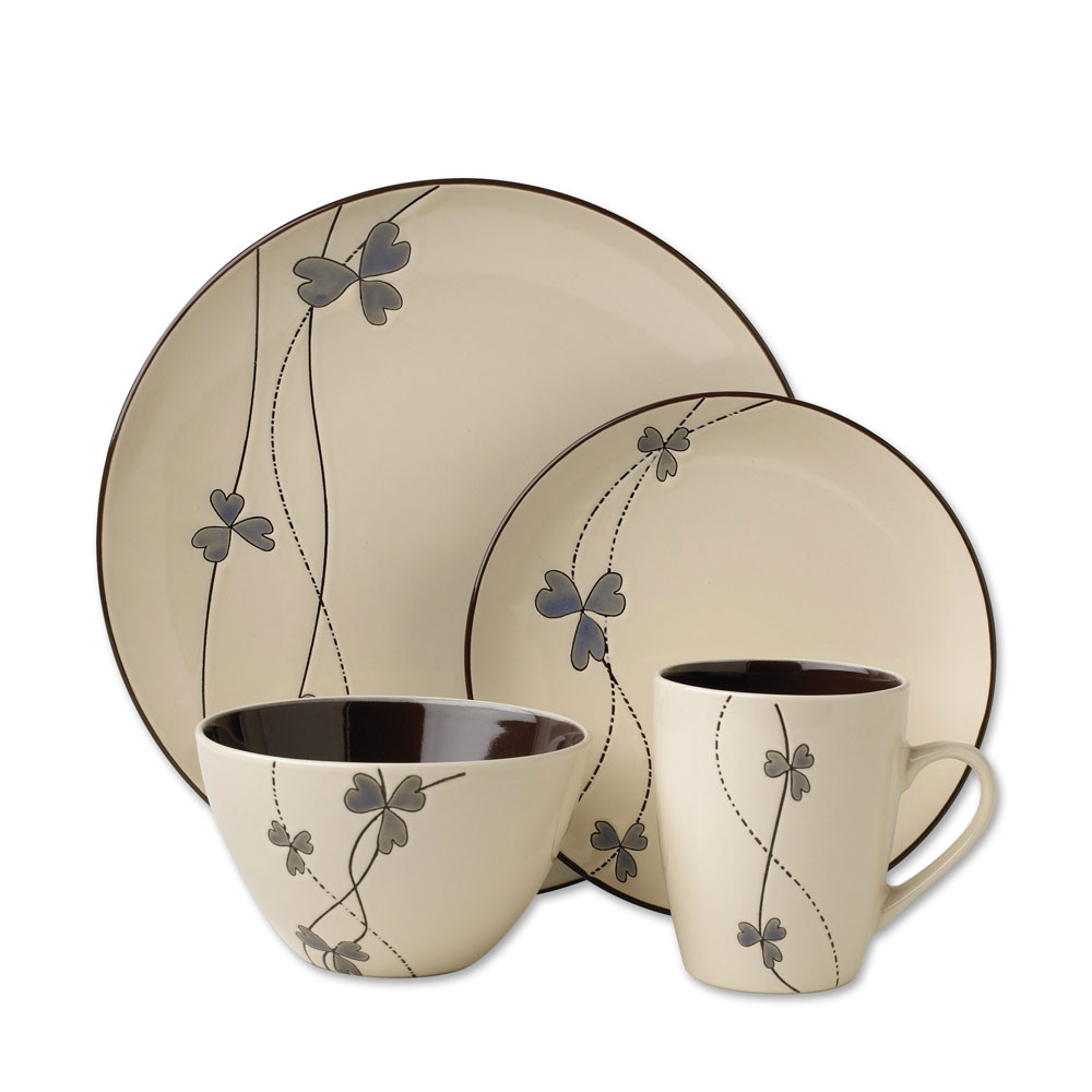 Pfaltzgraff Fleurette Dinnerware set for charming dinnerware ideas
