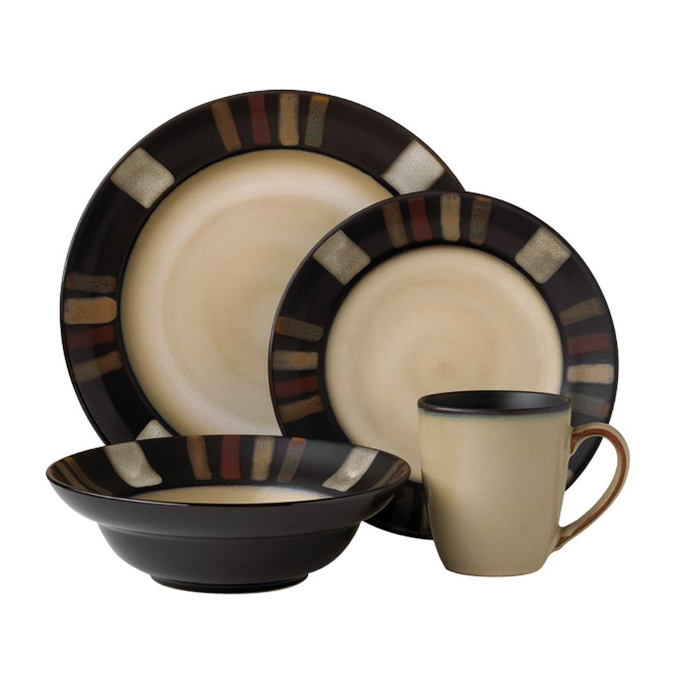 Pfaltzgraff Tahoe 16 Piece Dinnerware Set For Lovely Dinnerware Ideas