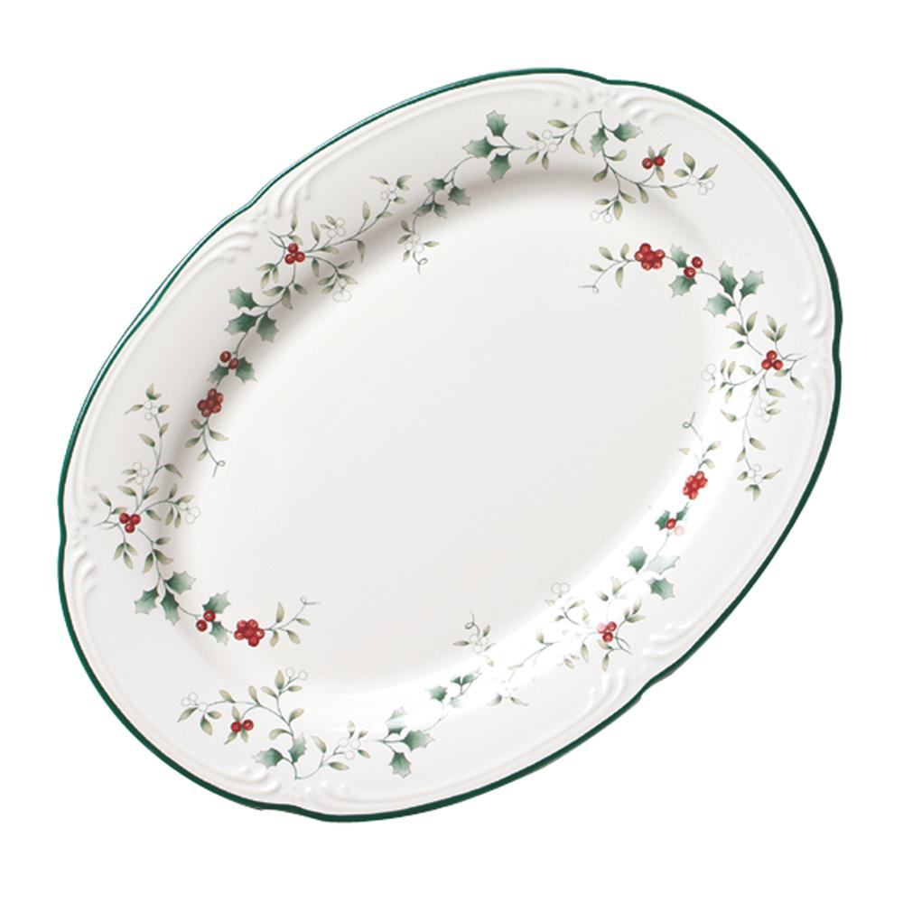 Pfaltzgraff Winterberry 14 inch Platter for serveware ideas