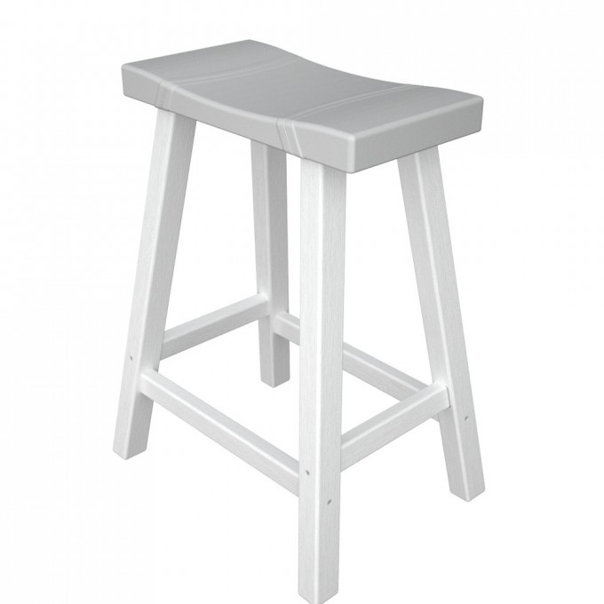 Pretty Cymax Bar Stools In Solid White For Home Furniture Ideas