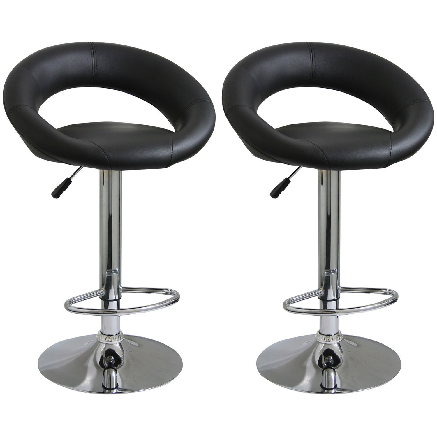 pretty cymax bar stools in unique black leather seat and back for interesting home furniture ideas