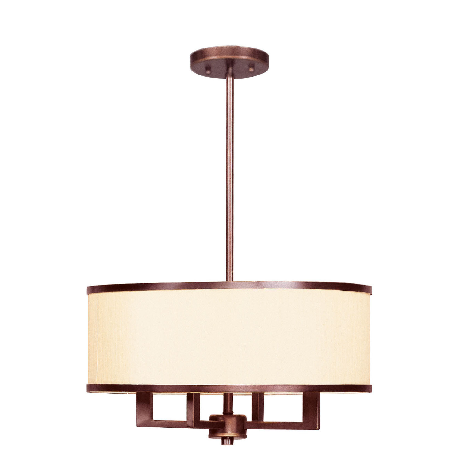pretty Livex Lighting Park Ridge 4 Light Chandelier for home lighting ideas